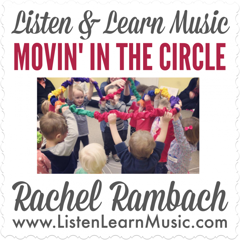 Movin' In the Circle | Stretchy Band Song
