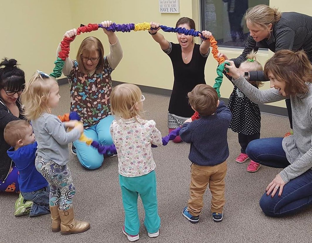 Stretchy Band for Music Therapy, Early Childhood Music, and Learning