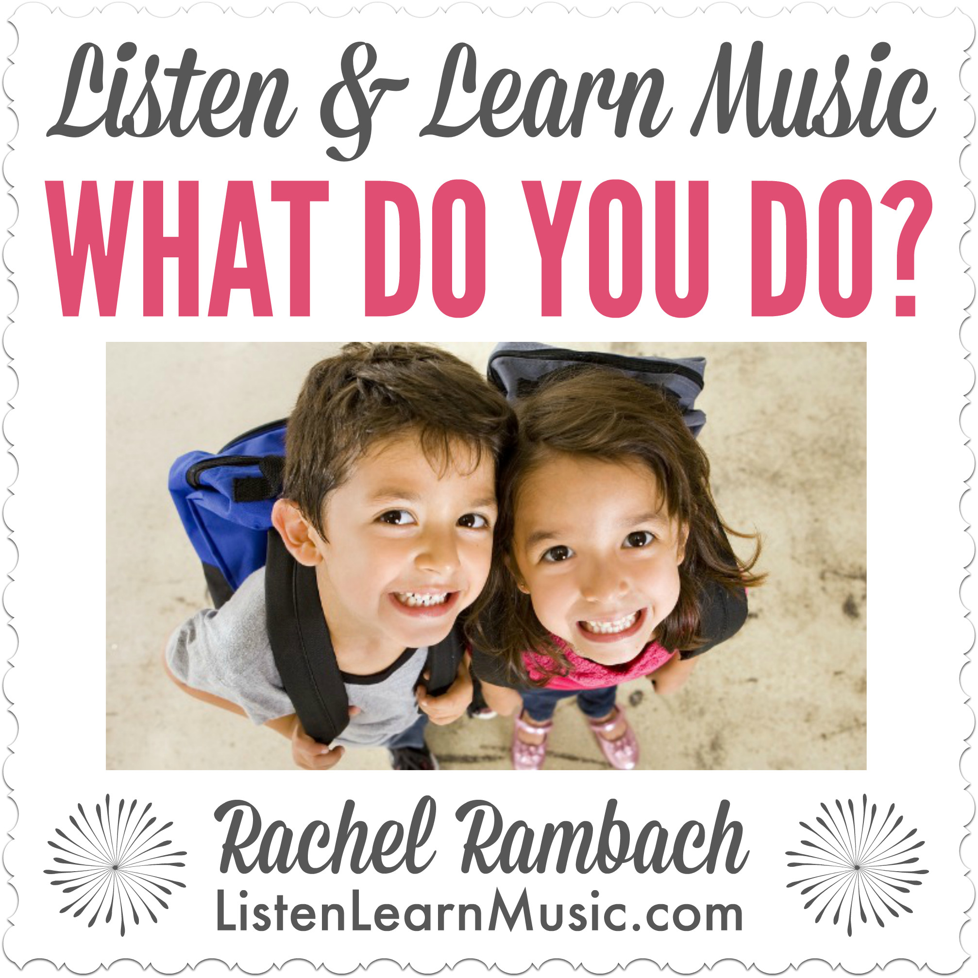 What Do You Do? | Song for Teaching Social Skills
