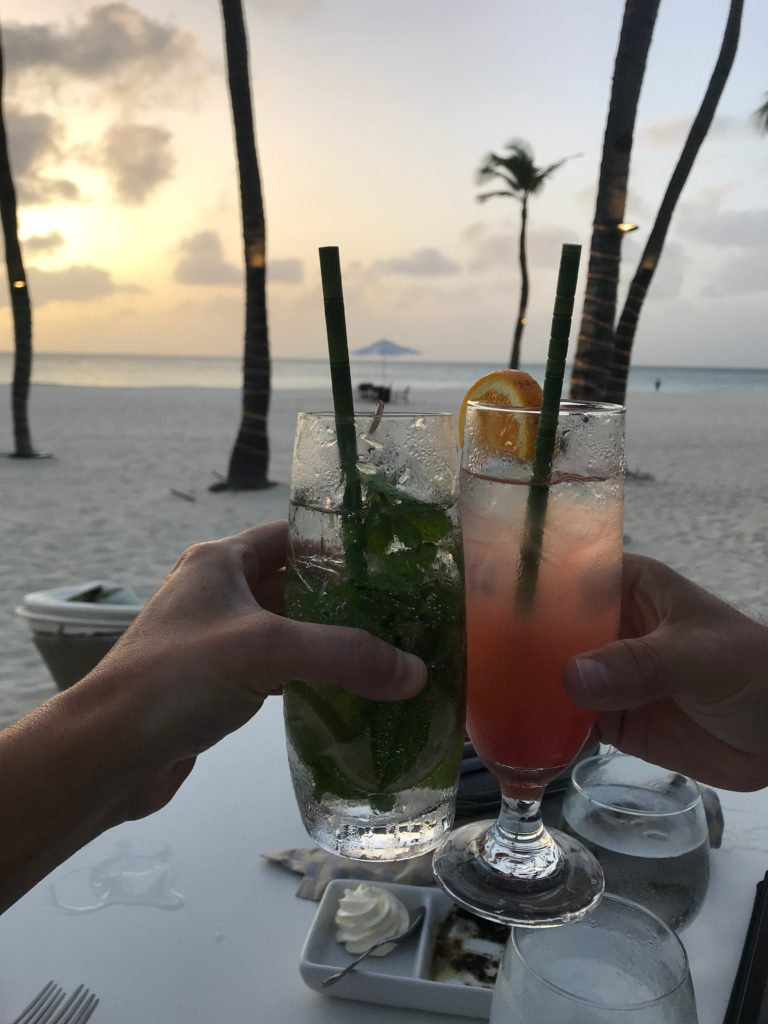 A 10th Anniversary Surprise: Vacation in Aruba | Rachel Rambach