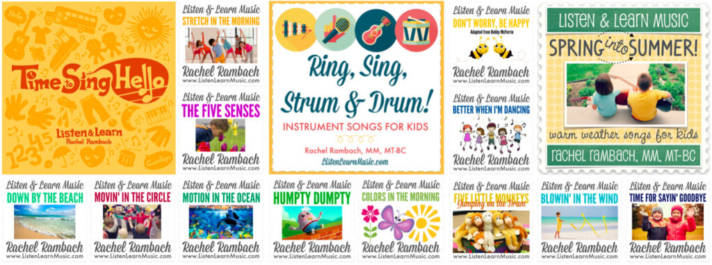 Children's Music Resources from Listen & Learn Music