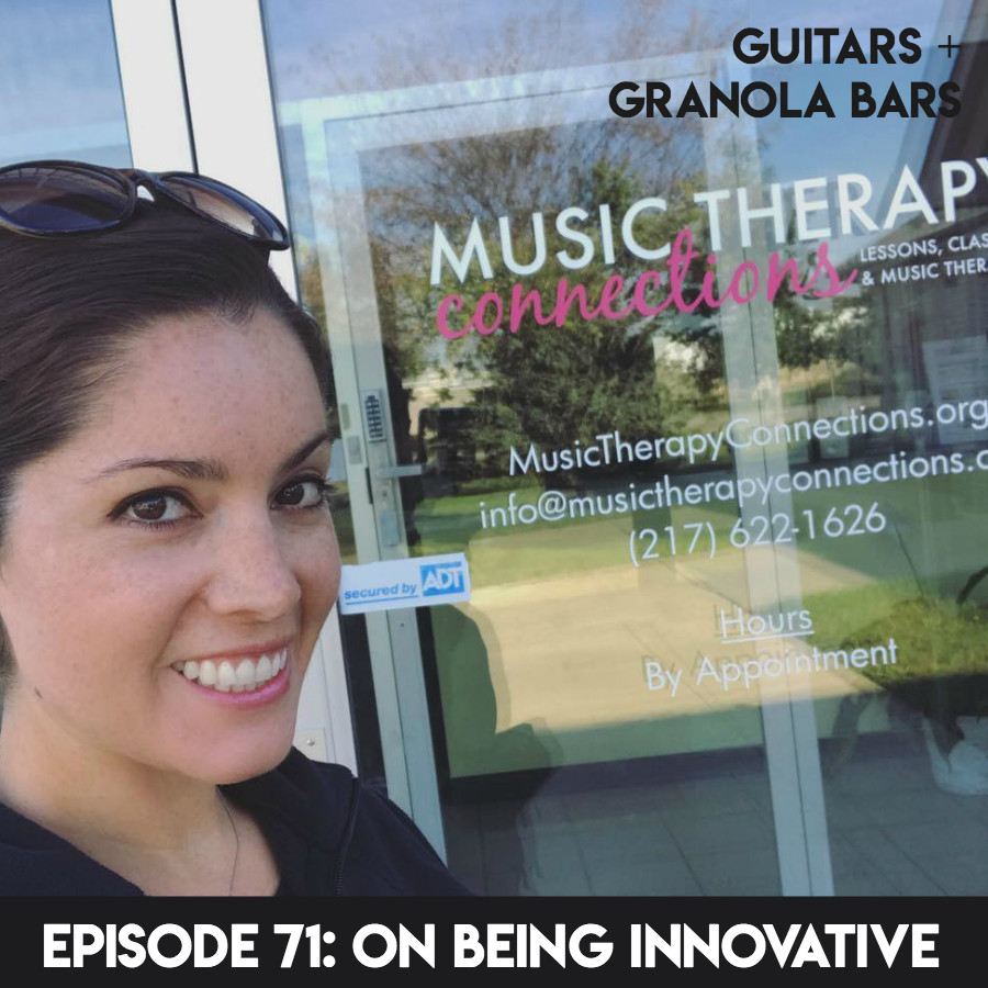 Guitars & Granola Bars Podcast Episode 71: On Being Innovative | Rachel Rambach