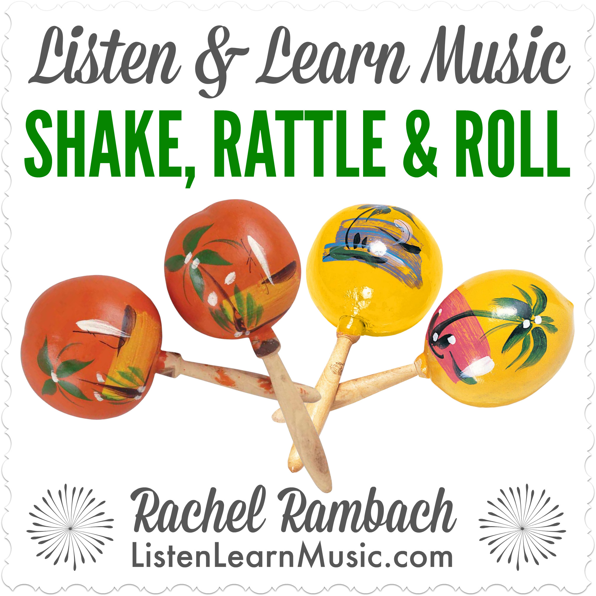 Shake, Rattle & Roll | Music Therapy Song for Shakers