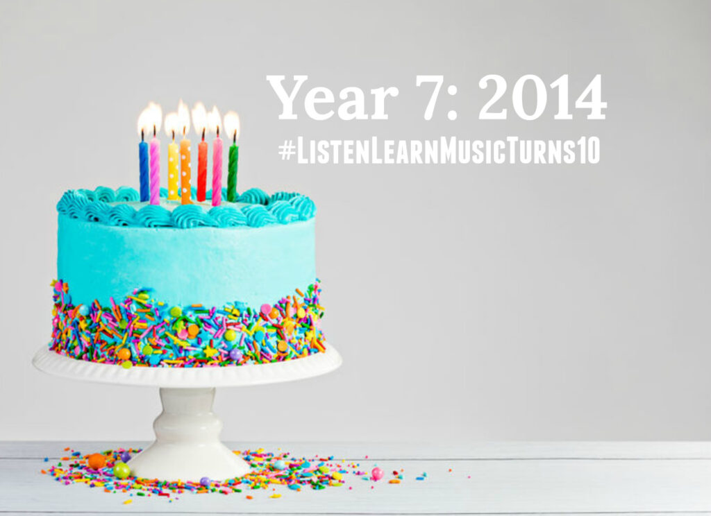 L&L Turns 10 - Year 7 | Listen & Learn Music