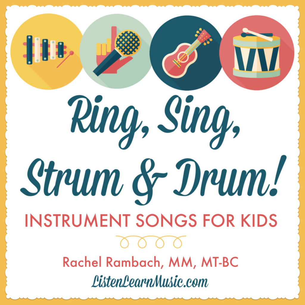Ring, Sing, Strum & Drum | Instrument Songs for Music Therapy | Listen & Learn Music