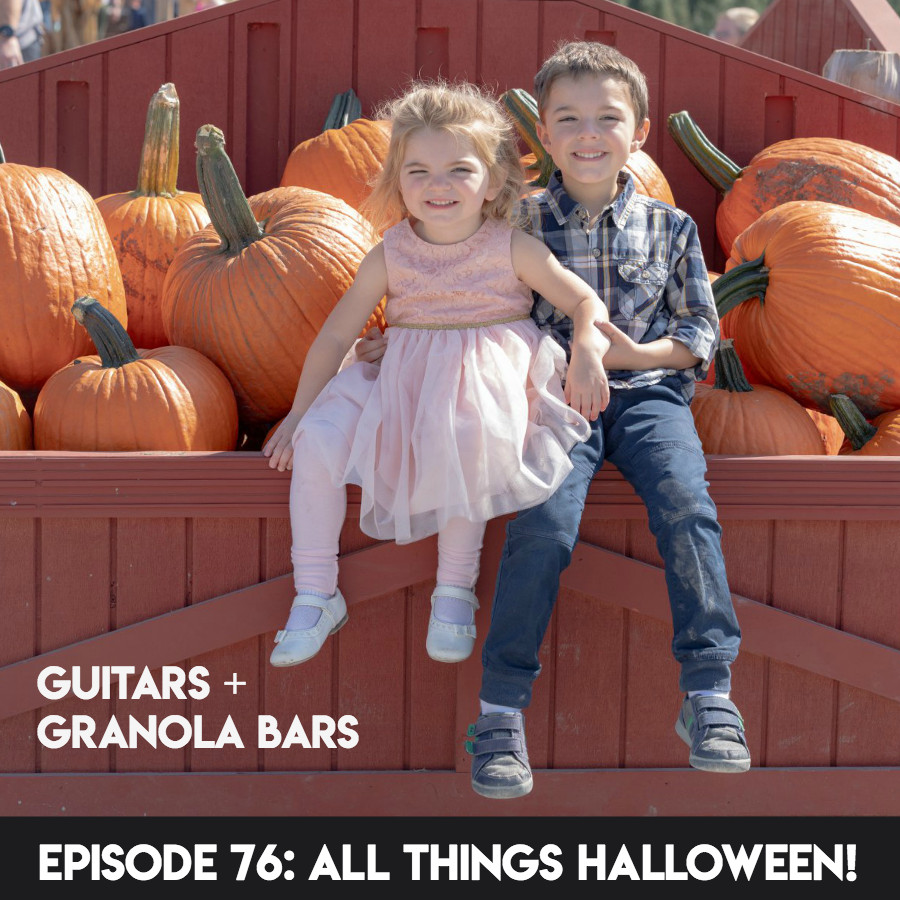 GGB Episode 76: All Things Halloween! | Guitars & Granola Bars Podcast | Rachel Rambach