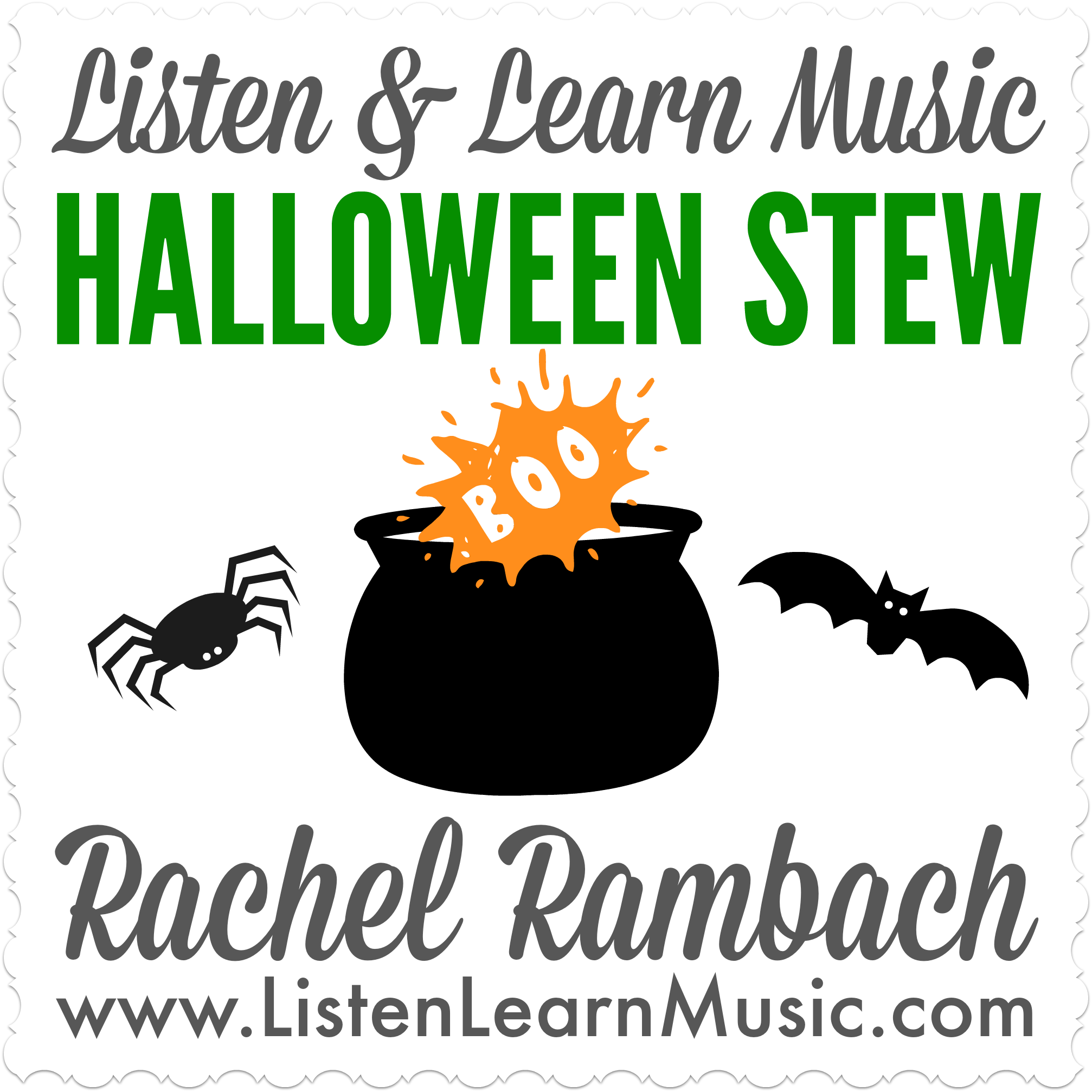 Halloween Stew | Listen & Learn Music