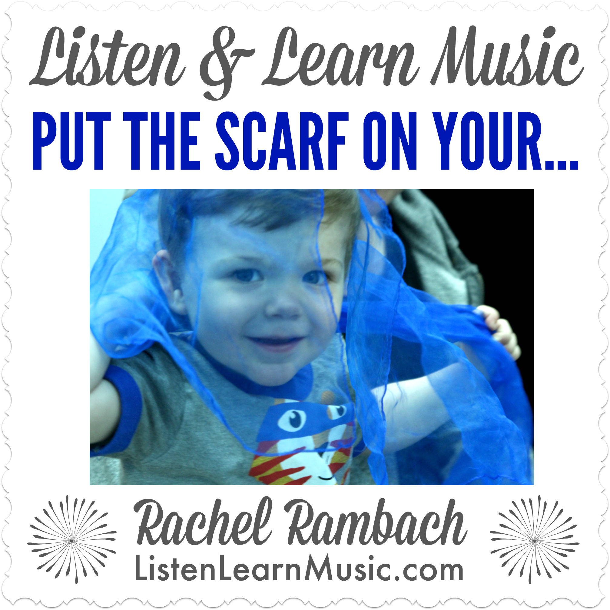 Put the Scarf On Your... | Listen & Learn Music