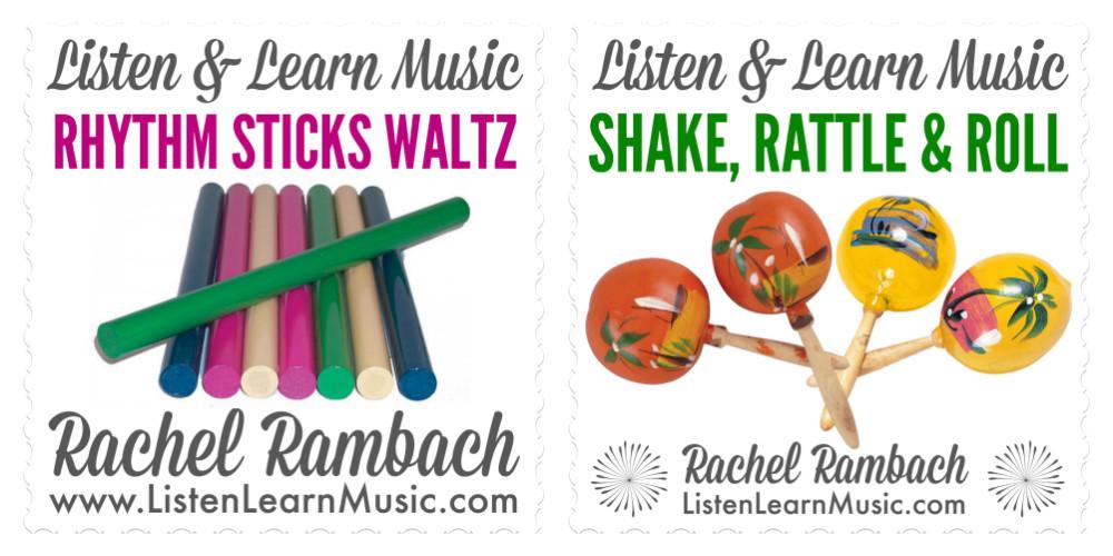 Rhythm Sticks Waltz | Shake, Rattle & Roll