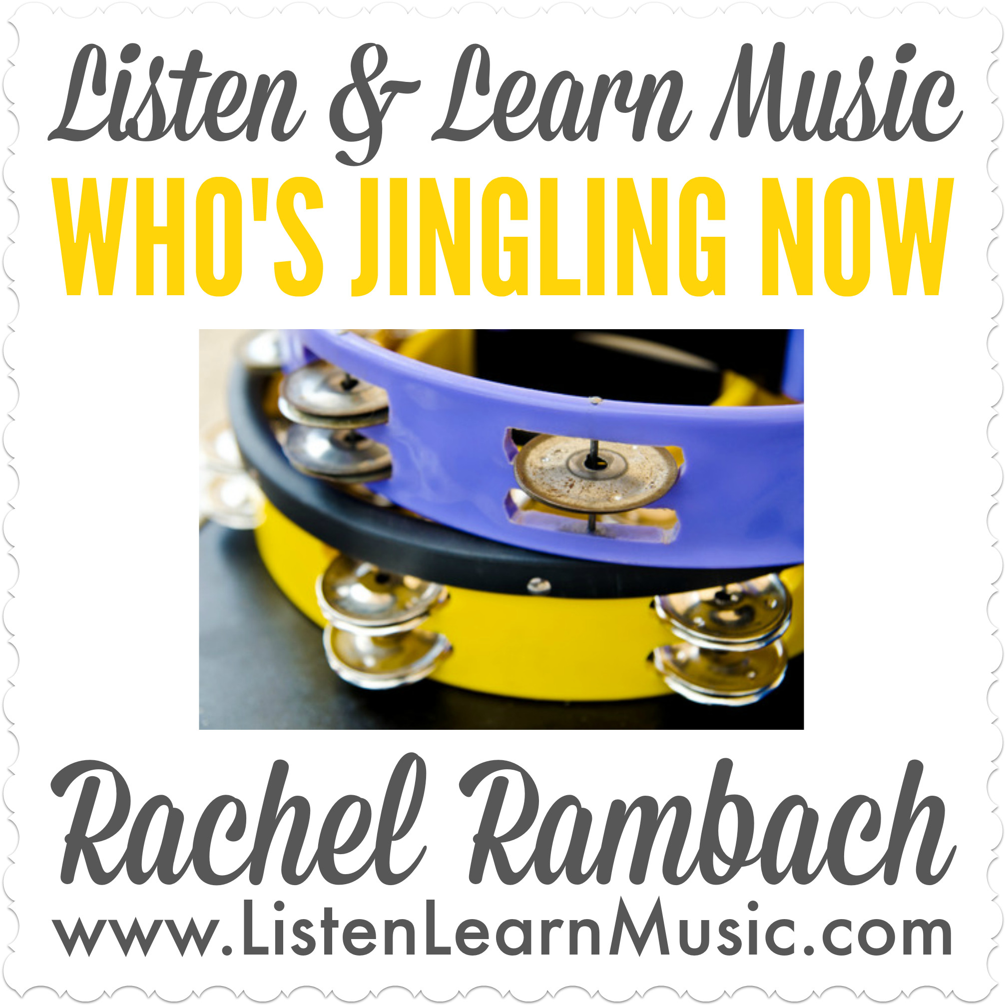 Who's Jingling Now | Listen & Learn Music