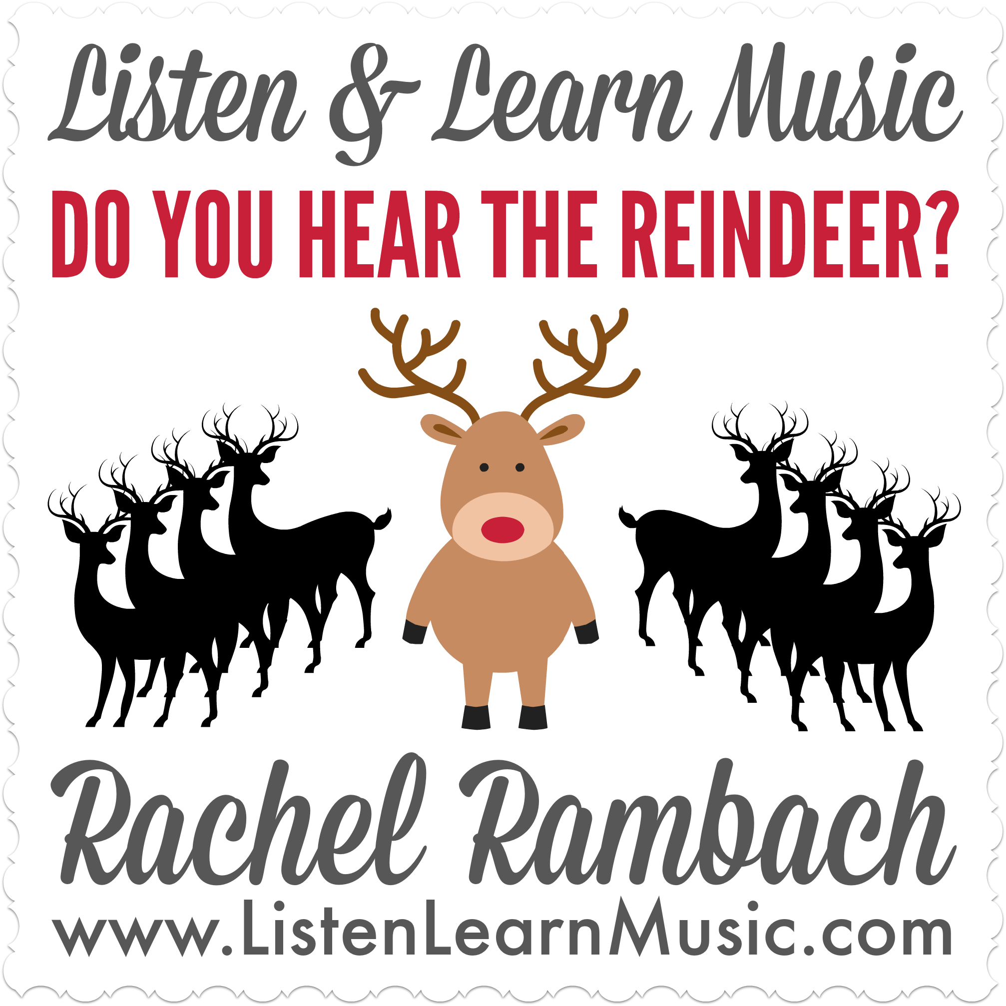 Do You Hear the Reindeer? | Listen & Learn Music