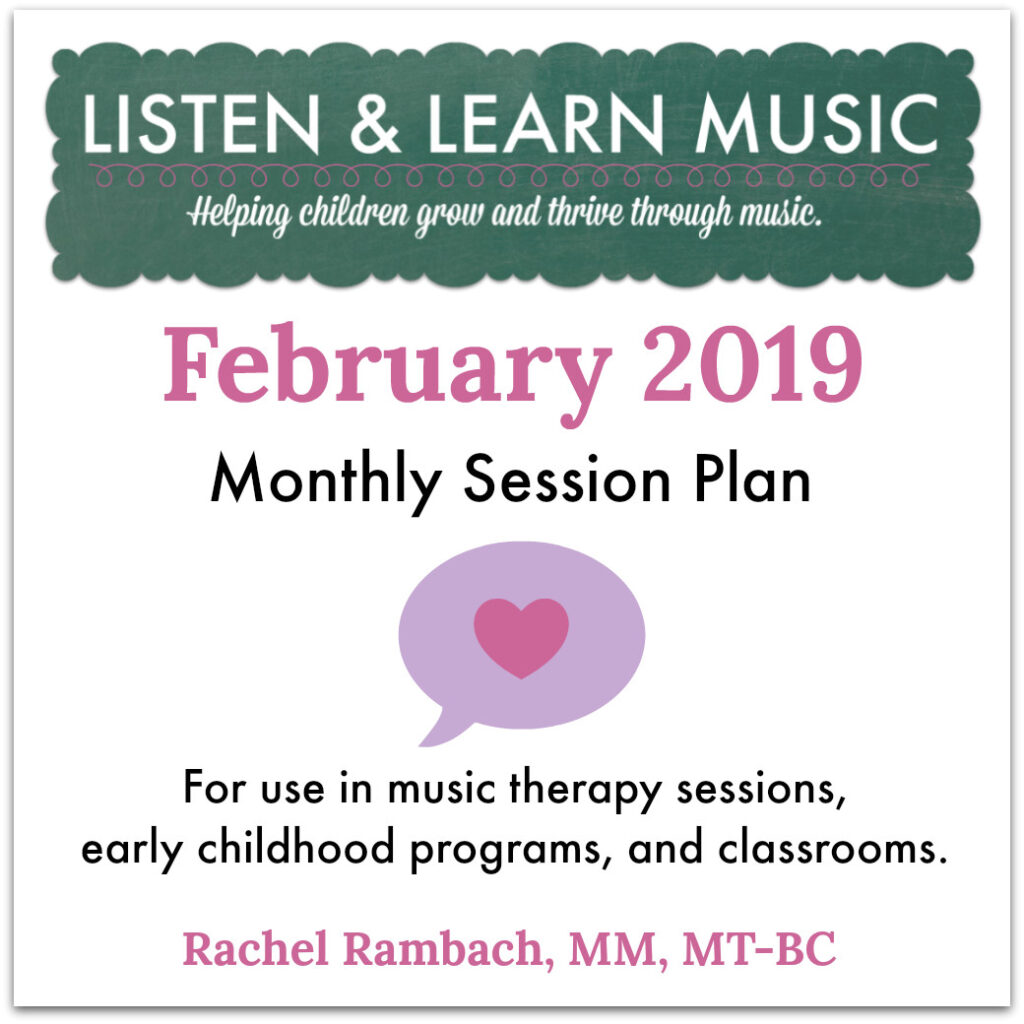 February Session Plan | Listen & Learn Music