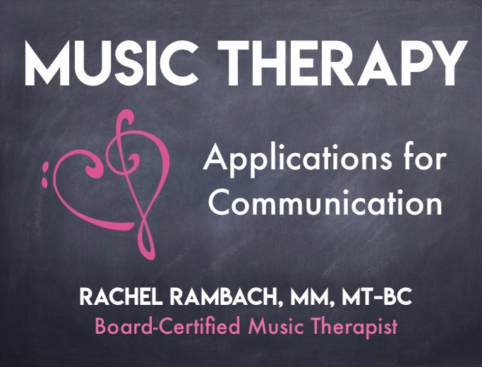 Music Therapy: Applications for Communication | Listen & Learn Music