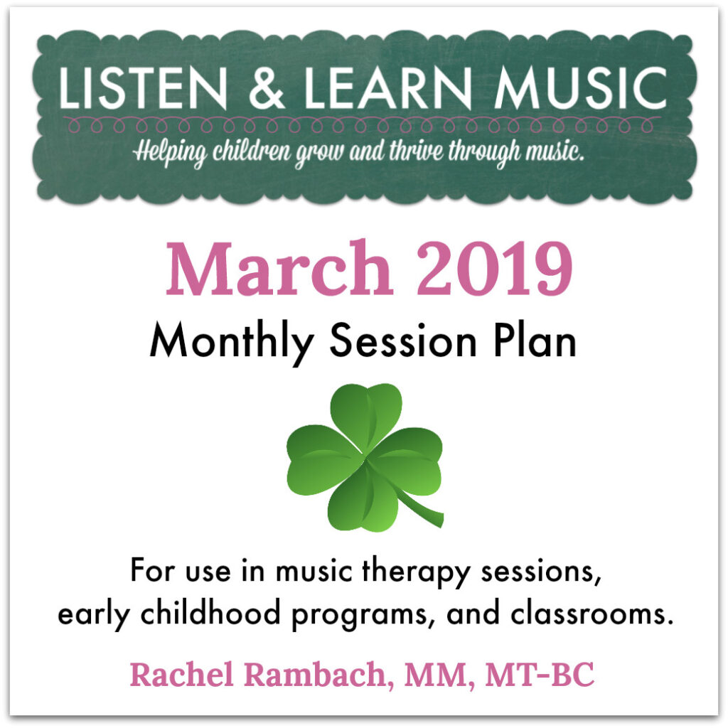 March 2019 Session Plan | Listen & Learn Music