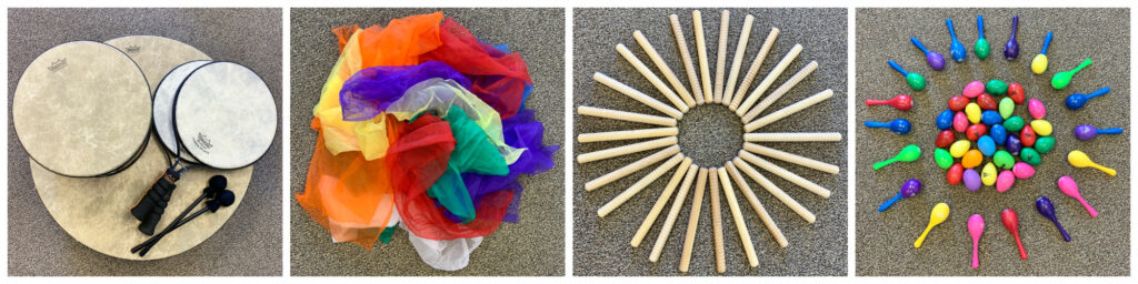 Keep It Simple - Music Therapy Applications for Drums, Scarves, Rhythm Sticks and Shakers