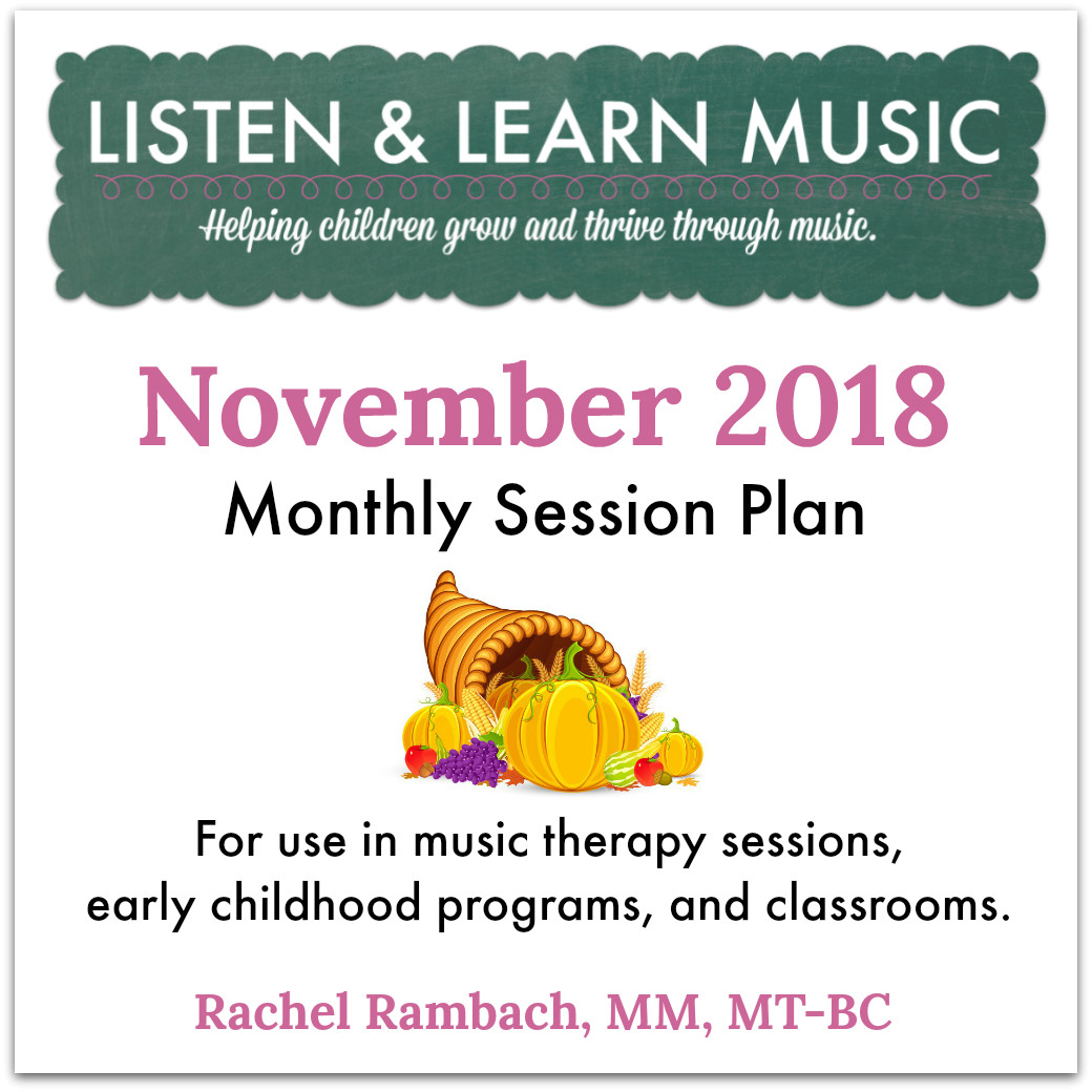 {November 2018} Session Plan Cover