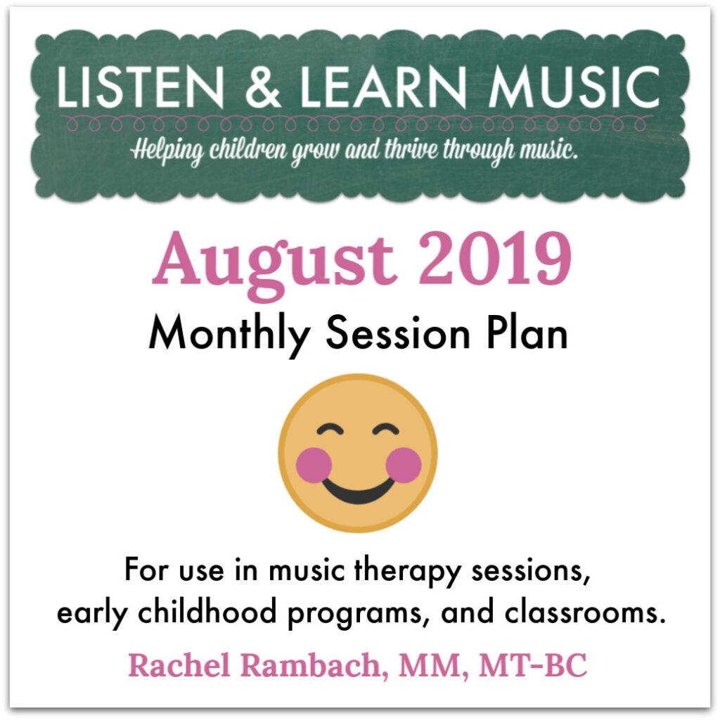 August Session Plan | Listen & Learn Music
