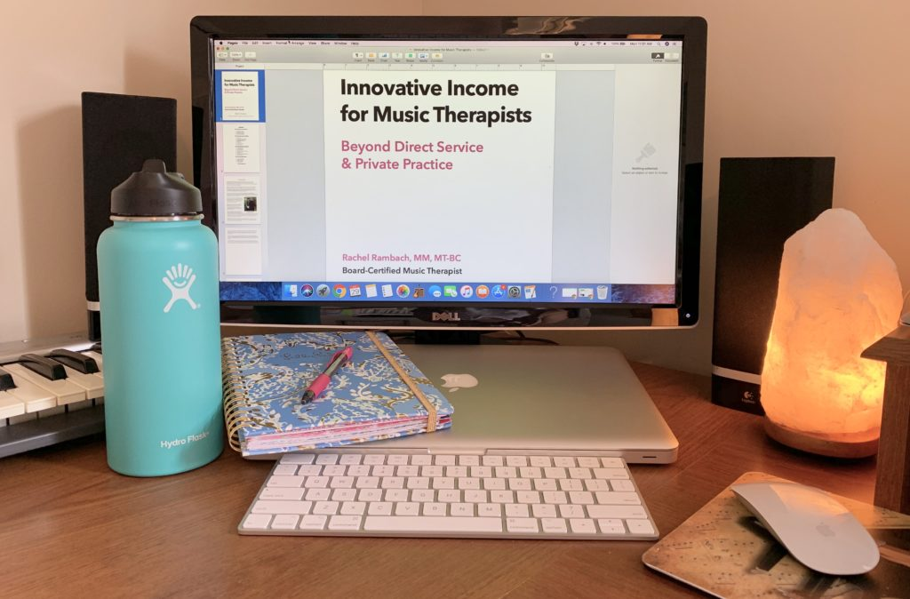 Innovative Income for Music Therapists - Beyond Direct Service and Private Practice | Listen & Learn Music