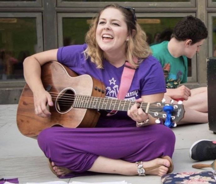 What It's Like to be a Therapist at a Camp for Kids with Special Needs | Cacia King | Listen & Learn Music