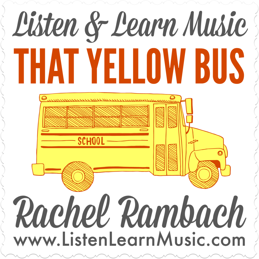 That Yellow Bus | Back to School Song | Listen & Learn Music