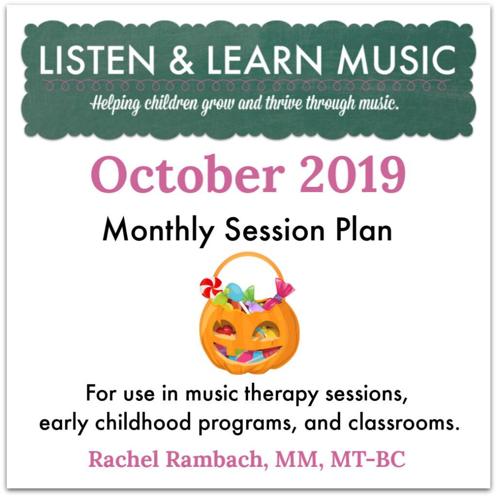 October Session Plan | Listen & Learn Music