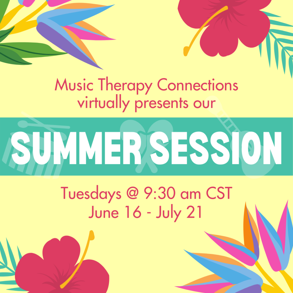 Summer Music Class Session | Music Therapy Connections