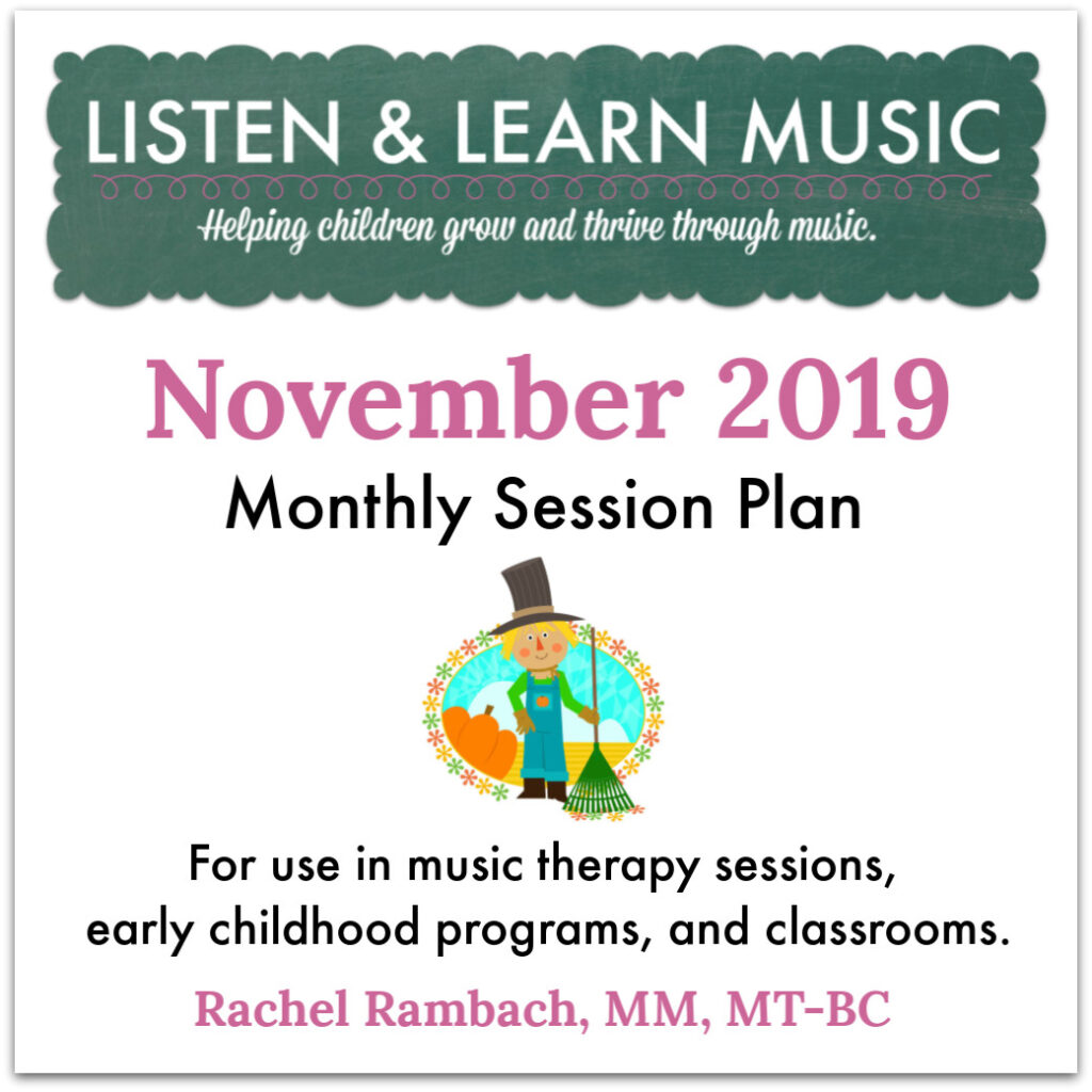 November 2019 Session Plan | Listen & Learn Music