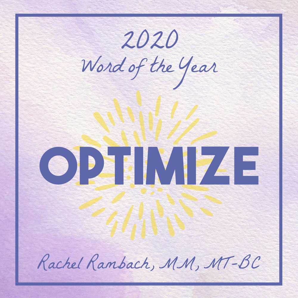 2020 Word of the Year | Rachel Rambach | Listen & Learn Music