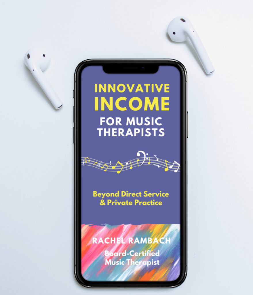 How to Get My Audiobook for Free on Audible | Innovative Income for Music Therapists