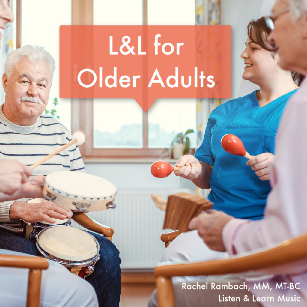 Listen & Learn for Older Adults | Music Therapy Songs for Older Adults | Rachel Rambach