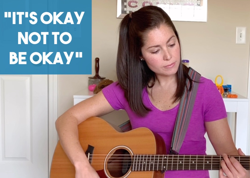 It's Okay Not To Be Okay | Coping Song for COVID-19 | Rachel Rambach