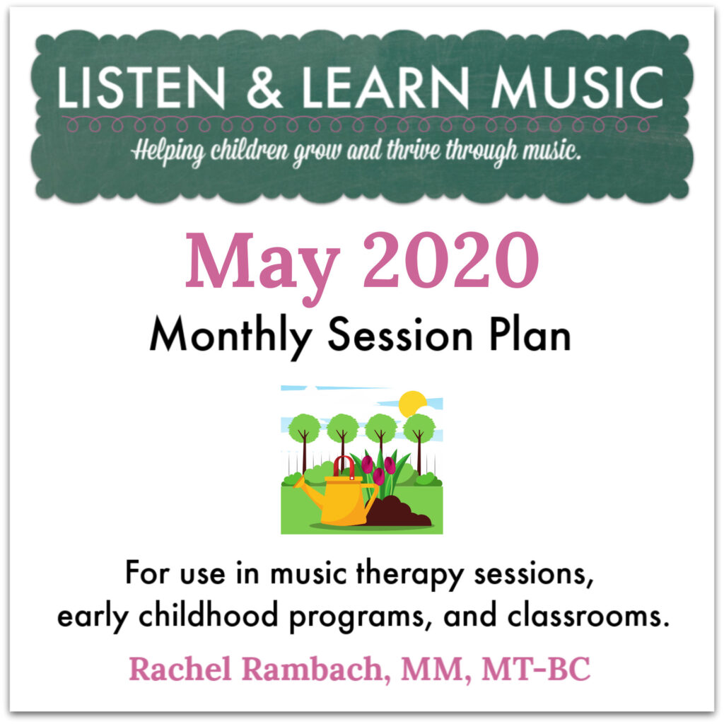 May 2020 Session Plan | Listen & Learn Music