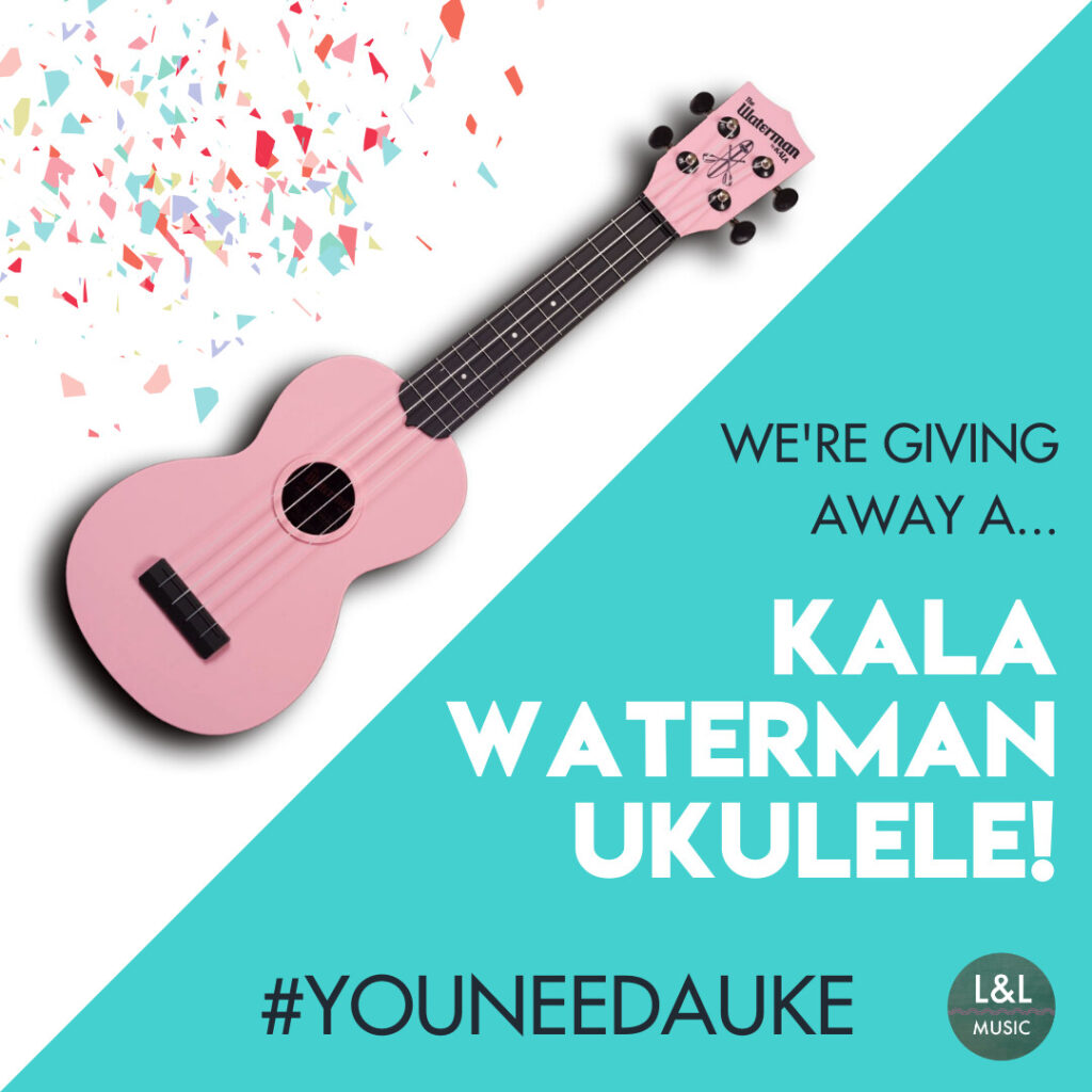 Kala Waterman Ukulele Giveaway | Listen & Learn Music