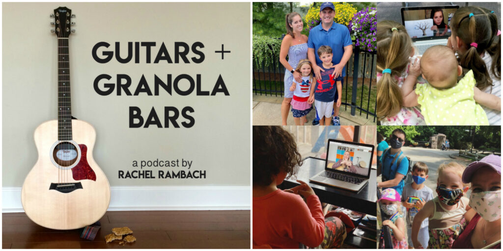 Episode 79: Reopening Our Businesses & Making School Decisions in the Time of COVID-19 | Guitars & Granola Bars Podcast