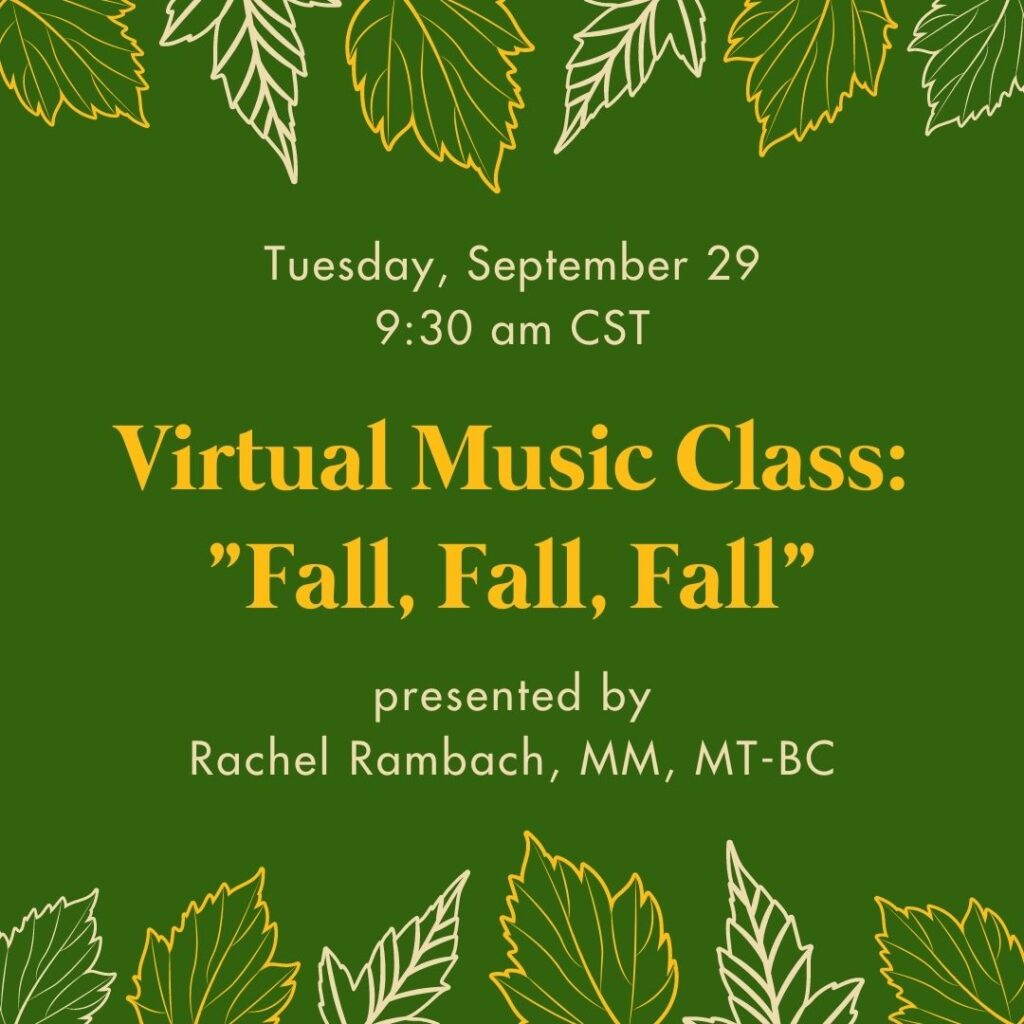 Virtual Fall Music Class - Fall, Fall, Fall