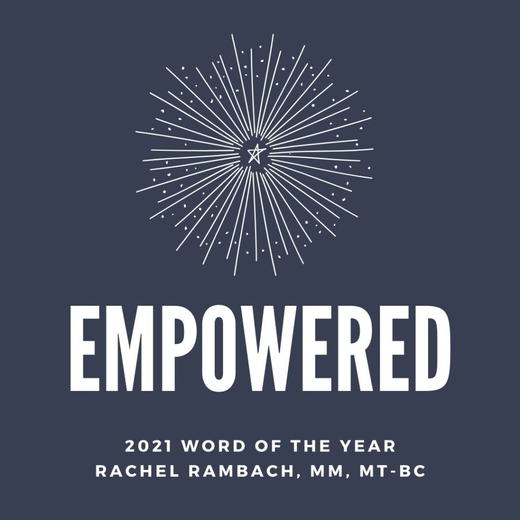 Word of the Year 2021 | Rachel Rambach | Listen & Learn Music