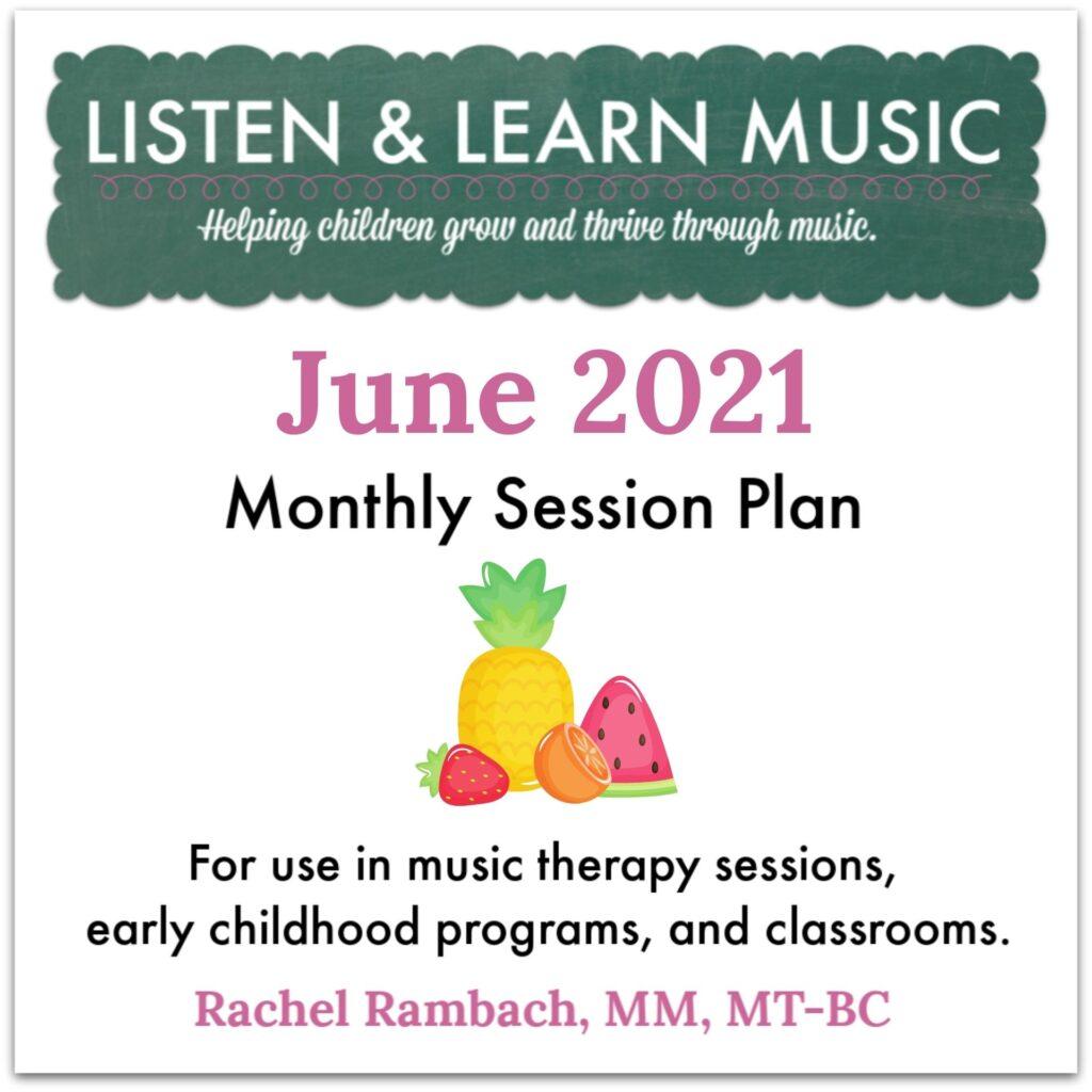 {June 2021} Session Plan